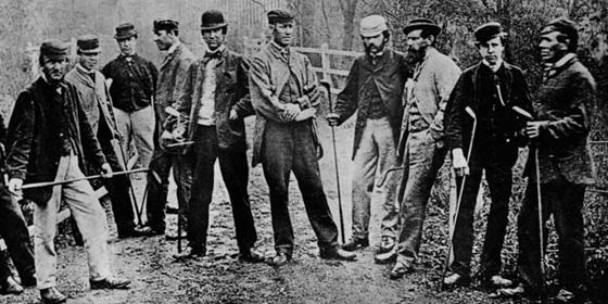 Old Golf Dudes