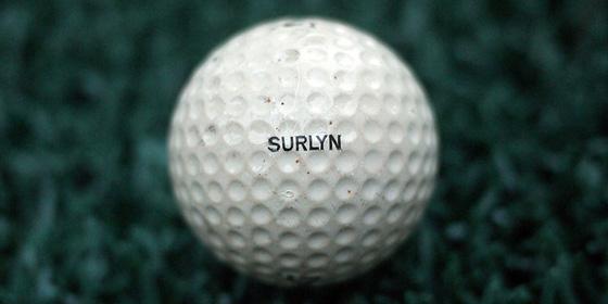 Surlyn Golf Ball