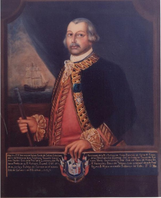 Bernardo de Galvez 560x690