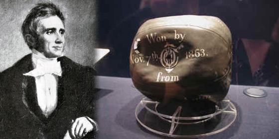 Charles Goodyear soccer ball