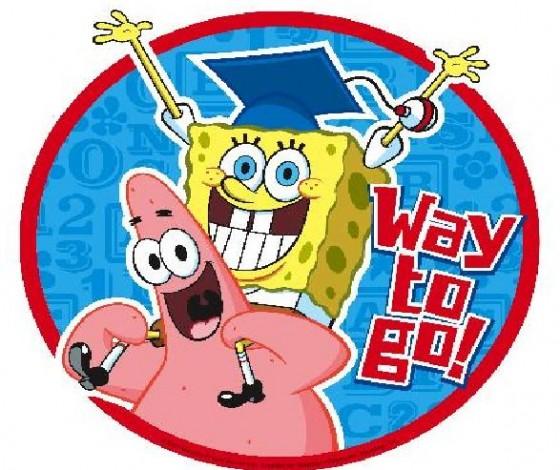 spongebob graduate 560x470