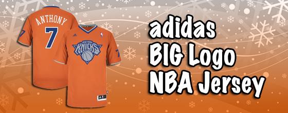 adidas BIG Logo NBA Jersey