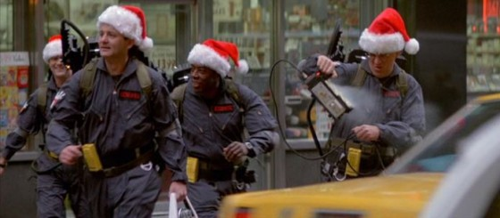 ghostbusters santa hats 560x244