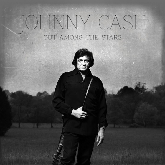 Johnny Cash Out Among The Stars 560x560