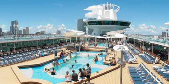 Royal Caribbean Deck