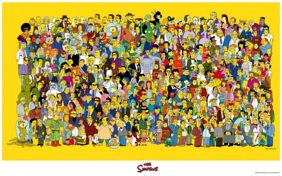 The Simpsons Characters World of Springfield 560x349