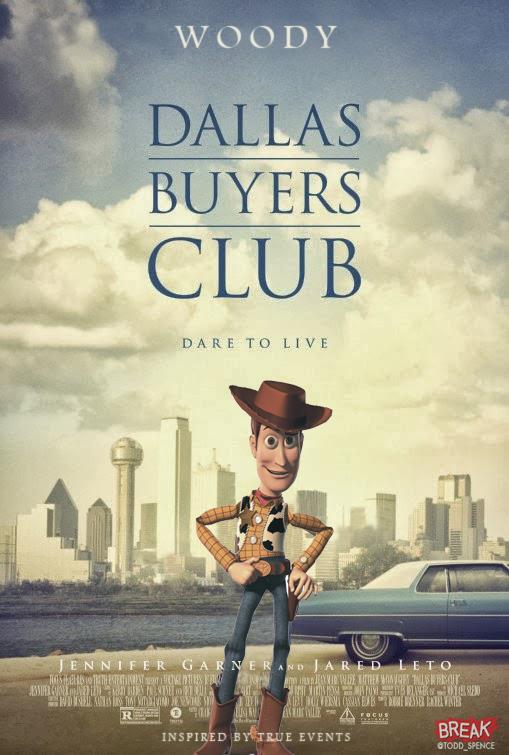 Dallas Buyers Club Pixar