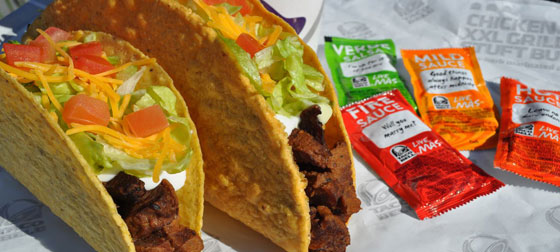 XXL Steak Taco