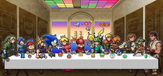 videogame last supper 560x261