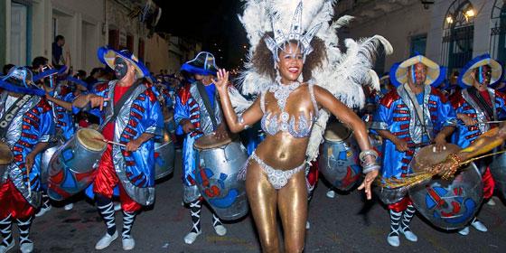 Carnaval in Montevideo Uruguay
