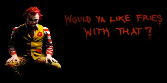 scary ronald mcdonald