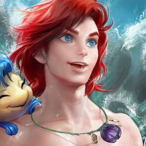 Gender Bending Disney Characters