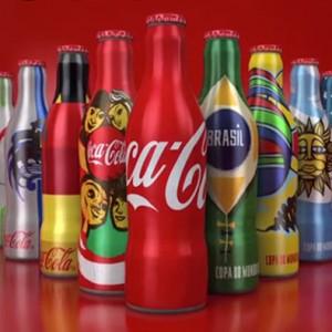 World Cup Coke Bottles