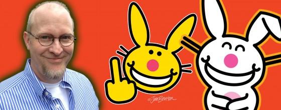 Jim Benton Happy Bunny 560x218