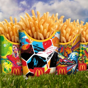 McDonald's World Cup Fry Boxes