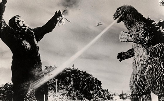 king kong vs godzilla blackandwhite still 560x345