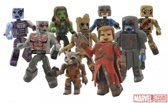 Guardians of the Galaxy Minimates 560x343