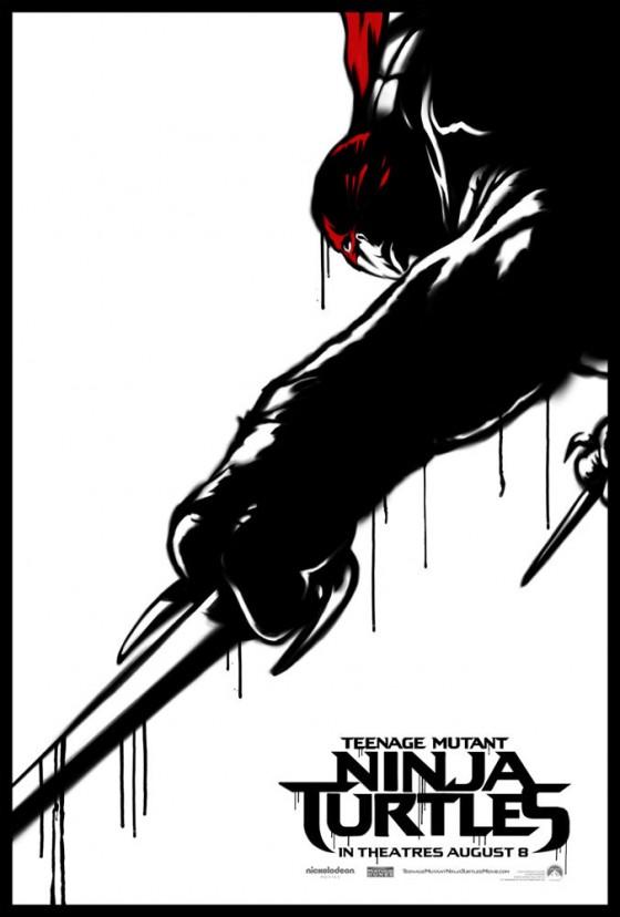 Teenage Mutant Ninja Turtle Street Poster Raphael 560x828