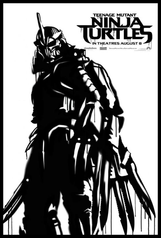 Teenage Mutant Ninja Turtle Street Poster Shredder 560x828