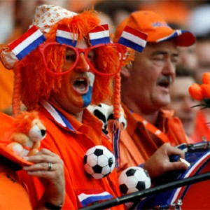 Dutch Fans Celebrate World Cup Victory Over Spain