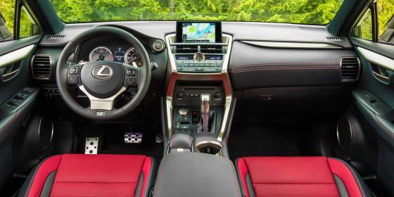 2015 Lexus NX 200t F SPORT Interior 560x280