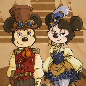 Disney Steampunk by Mecanique Fairy