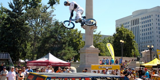 Pro Challenge Denver Maxxis BMX Stunt Show 01 560x280
