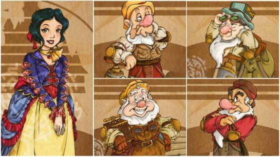 Snowwhite Dwarves Steampunk 560x313