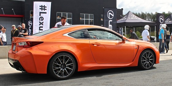 2015 Lexus RCF Track Day 3 560x279