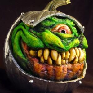 Scary Pumpkin Carvings by Jon Neill