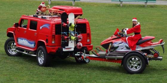 Christmas Hummer 560x280