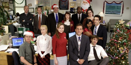 The Office Christmas 560x280