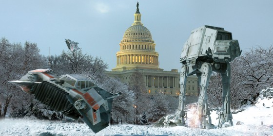 Hoth Star Wars Washington Capitol Snow 560x280