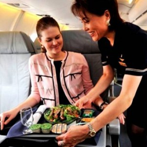 Airline Meals Around The World