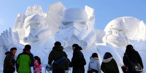 Star Wars Snow Sculpture Sapporo 1 560x280