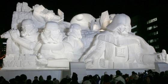Star Wars Snow Sculpture Sapporo 4 560x280