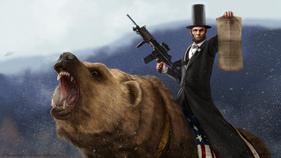 abe lincoln riding a grizzly by sharpwriter d33u2nl 560x315