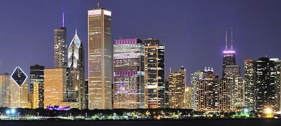 Chicago Skyline 560x252