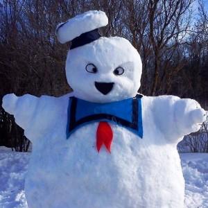 Forty Pop Culture Snow Sculptures