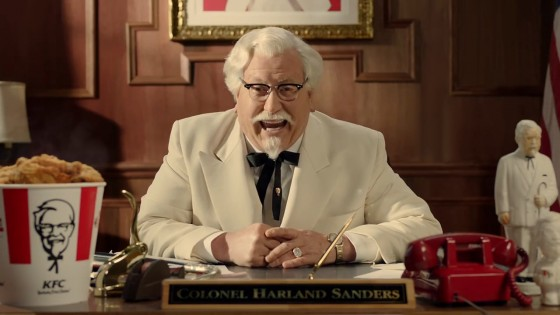 Colonel Sanders Commercial 560x315