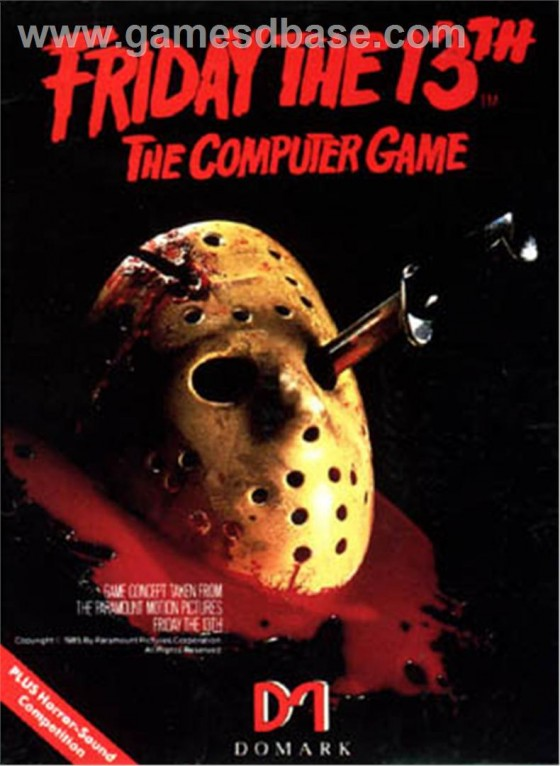 Friday the 13th 1985 Domark Software 560x766