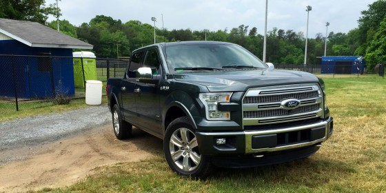 Ford F 150 Platinum 560x280