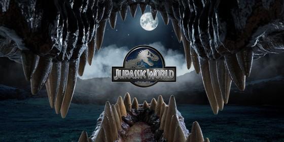 Jurassic World Through the Teeth Logo 560x280