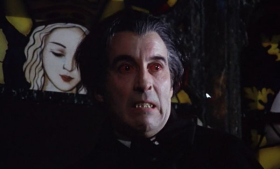 taste the blood of dracula red eyes christopher lee 560x338