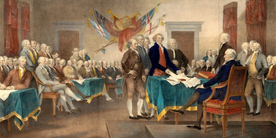 Declaration of Independence 560x280