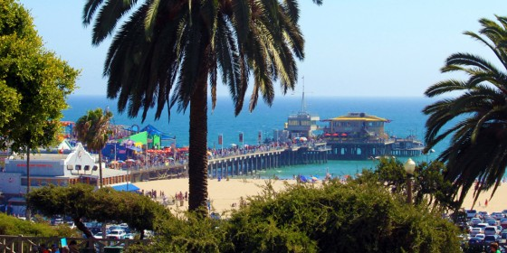 Santa Monica Pier 560x280