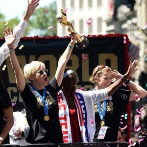 USWNT World Cup Ticker Tape Parade