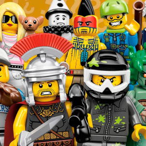 Thirty of the Coolest LEGO Mini Figures