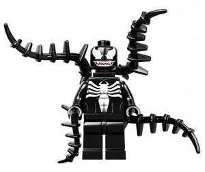 Venom VS Spiderman Marvel x LEGO Minifigures 2 300x252