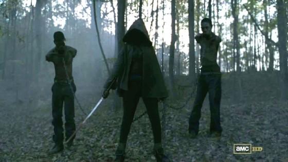 Michonne Walking Dead Danai Gurira 560x315